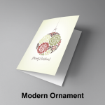 Christmas Card Design-ModernOrnament